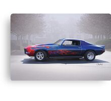 1970 Chevrolet 'Street Machine' Camaro Canvas Print