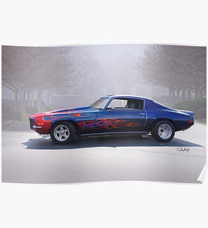 1970 Chevrolet 'Street Machine' Camaro Poster