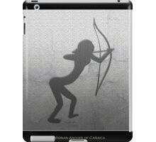 Cavewoman Archer  iPad Case/Skin