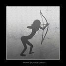 Cavewoman Archer  by mindprintz