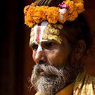 Nepal Holy Man by Mark Poulton