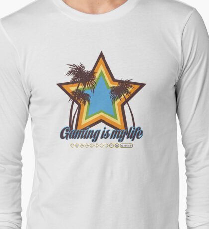 Gaming is my life Long Sleeve T-Shirt