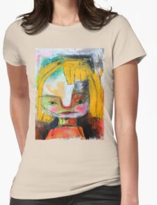 Bratty Womens Fitted T-Shirt