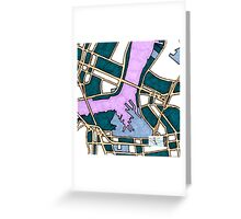 Old New York City, United States Greeting Card