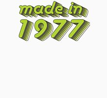 Made in 1977 (Green&Grey) Mens V-Neck T-Shirt