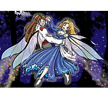 Dancing Faeries Photographic Print