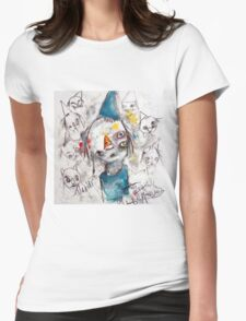 Voices in My Head Womens Fitted T-Shirt