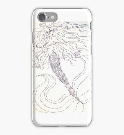 mermaid fun iPhone Case/Skin