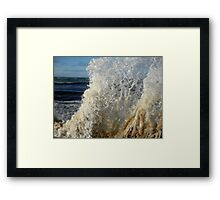 High Tide At Penguin, Tasmania, Australia. Framed Print