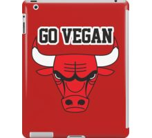 BULLS VEGAN iPad Case/Skin