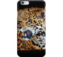 Jaguar Wild Cat Animal-Lover Artwork iPhone Case/Skin