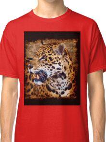 Jaguar Wild Cat Animal-Lover Artwork Classic T-Shirt