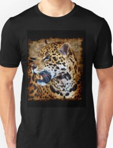 Jaguar Wild Cat Animal-Lover Artwork Unisex T-Shirt