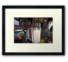 Daiquiri Blenders Framed Print