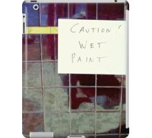 Silly Sign - Ceramic Tiles iPad Case/Skin