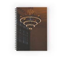 42nd Street Lights: Vintage New York @ Grand Central Spiral Notebook
