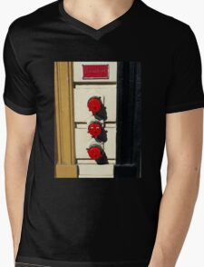 Stand Alone Pipe Mens V-Neck T-Shirt