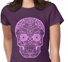 Calavera Nosferatu Womens Fitted T-Shirt