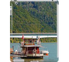 Danube river boat | travel photography iPad Case/Skin