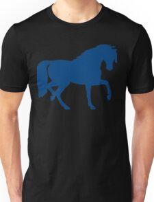 Trotting Horse Silhouette Unisex T-Shirt