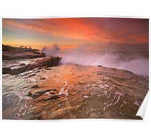 Flaming Sky, Wind'n Sea Poster