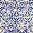Art Deco - Winter Blues by micklyn