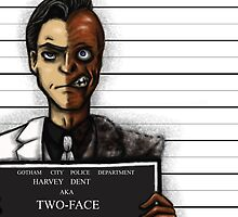 Two-Face by artofzan