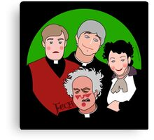 Father Ted Canvas Print