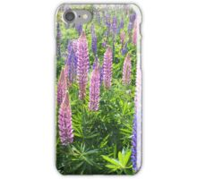 Larkin' About With Lupins iPhone Case/Skin