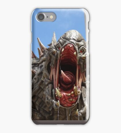 Goliath from Evolve statue iPhone Case/Skin