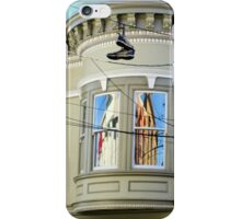 Hanging Shoes With Both Sides Now... iPhone Case/Skin