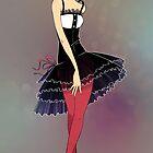 Ballerina Dress by Lisa Furze