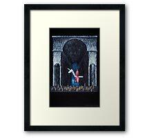 Magician Framed Print