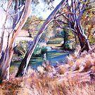 Sunday Creek at Lyndale by Lynda Robinson