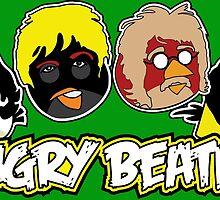 Angry Beatles - Angry Birds/ Beatles Parody by bleedart