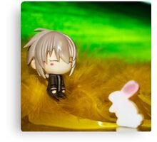Mr. Rabbit?? Canvas Print