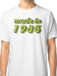 Made in 1985 (Green&Grey) Classic T-Shirt