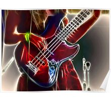 She Rocks The Bass! Poster