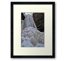 Base of the Falls Framed Print