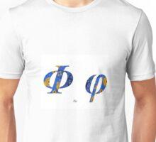Phi Greek Alphabet Unisex T-Shirt