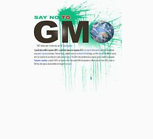 just say no to gmo Womens Fitted T-Shirt
