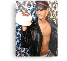 cake? :) Metal Print