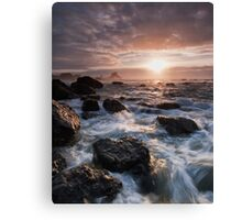 Waves Rush In Canvas Print