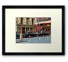 The Crown Bar in Belfast, Ireland Framed Print
