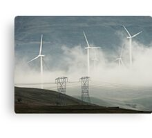 NEW AGE POWER GRID Canvas Print