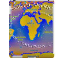The seven continents iPad Case/Skin