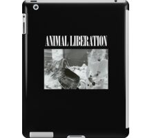 ANIMAL LIBERATION iPad Case/Skin