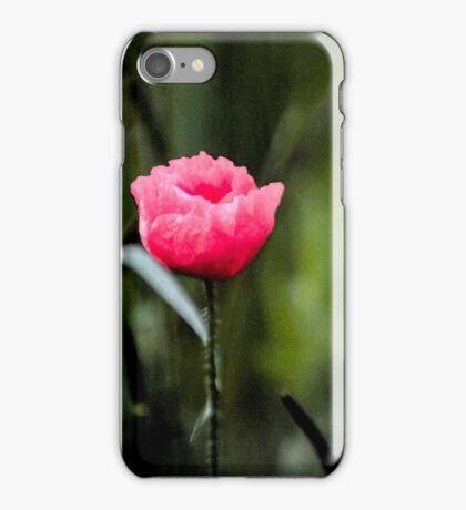 Poppyflower iPhone Case/Skin