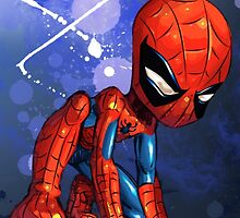 baby spider man. by tofiq982
