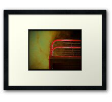 lucifer's cherry picker II Framed Print